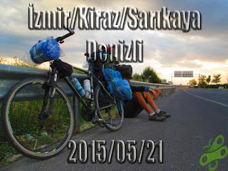 2015/05/21 Buralarda geziyorum bisiklet turu (BGBT) 7. Gün (İzmir/Kiraz/Sarıkaya - Denizli)