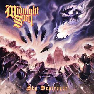 """Ο δίσκος των Midnight Spell - """"Sky Destroyer"""""""