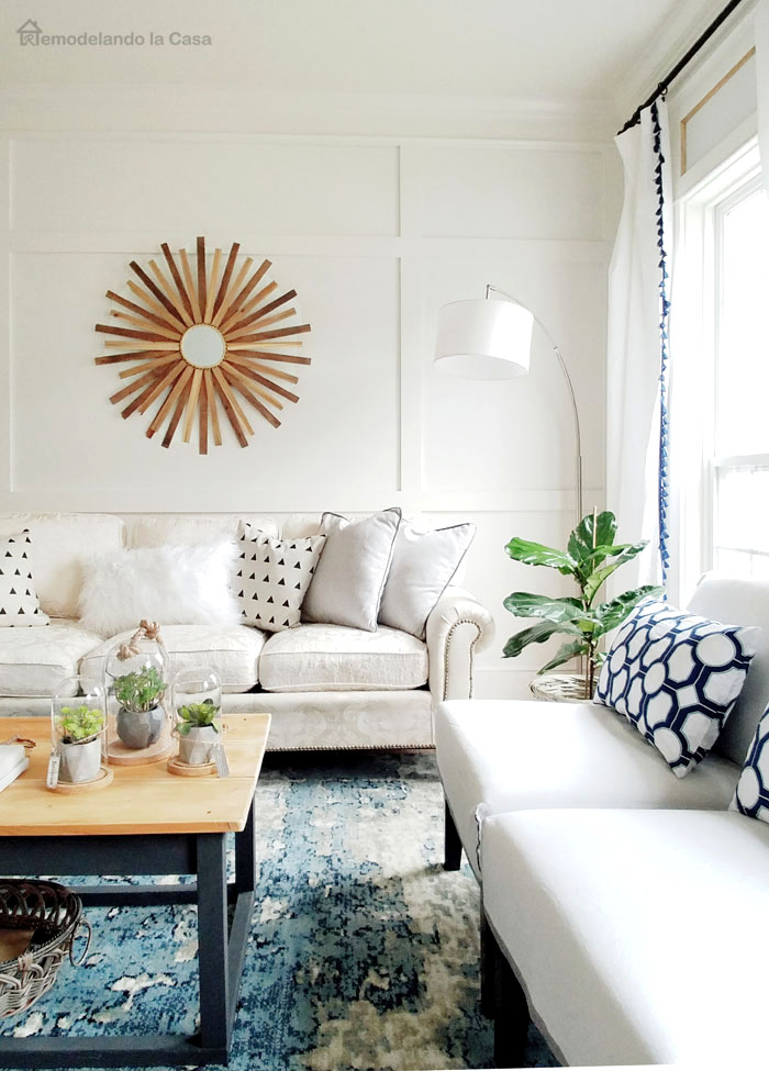a living room makeover