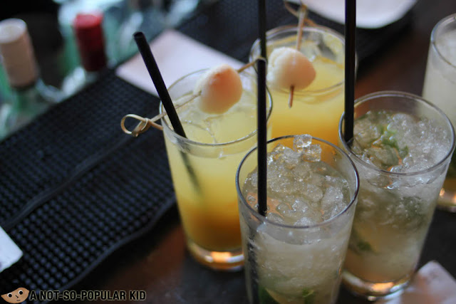 Fresh mocktails of Nobu Restaurant Brunch