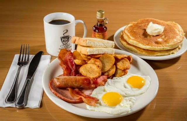 Breakfast:- types of breakfast  with cover.
