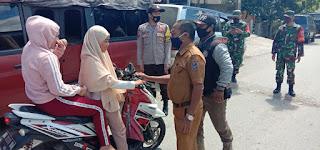 Disiplinkan Warga, Polsek Alla Ops Yustisi Gabungan di Kampung Tangguh