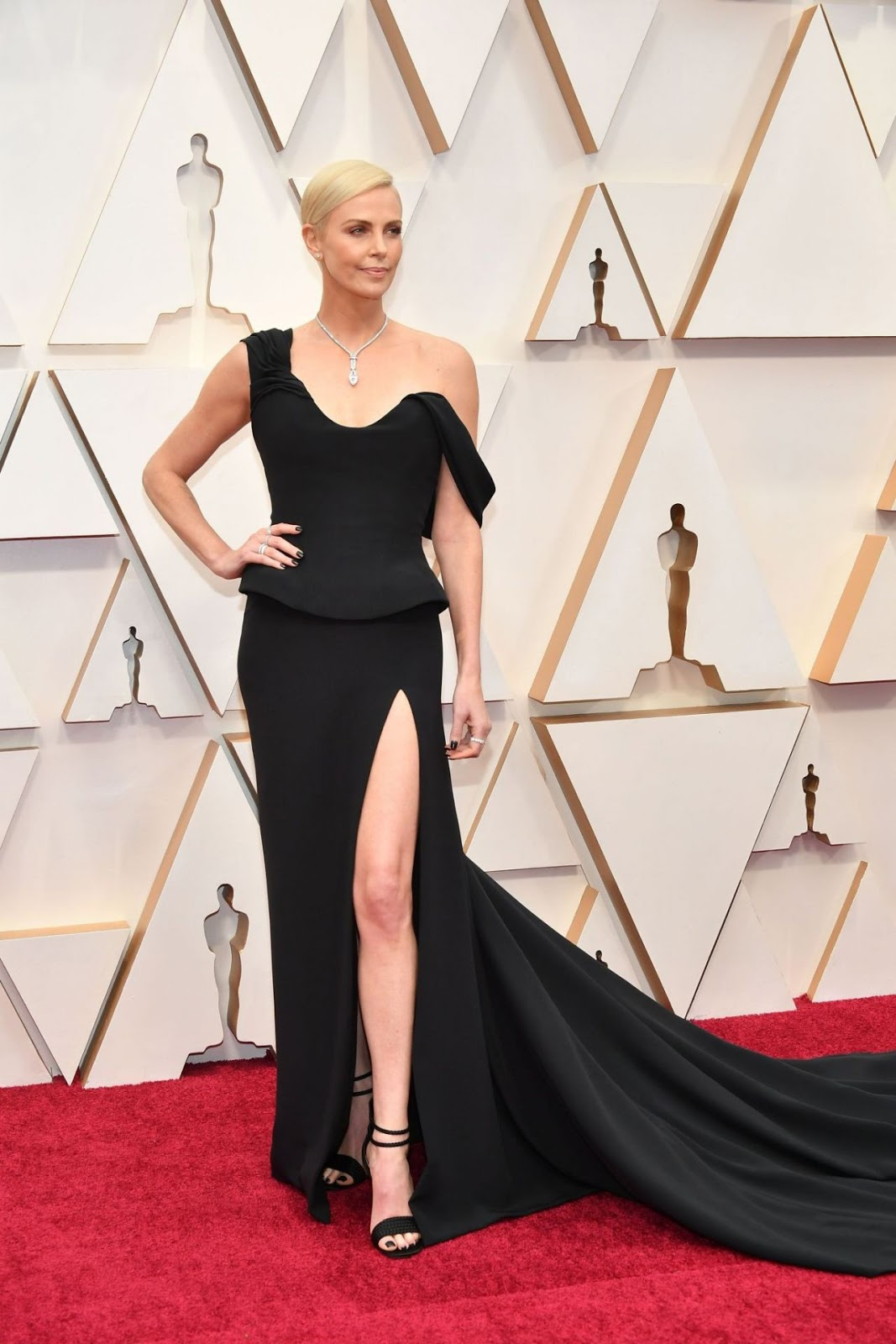 Charlize Theron - Oscars 2020 Red Carpet - 92nd Annual Academy Awards in Los Angeles