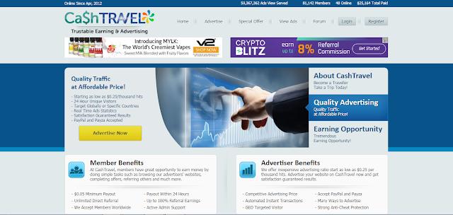 cashtravel.info is fraud PTC