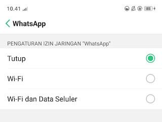5 cara menonaktifkan whatsapp