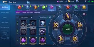 The sickest and strongest Granger emblem in Mobile Legends Talent Bounty Hunter