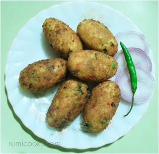 Potato Croquette / Aloo Chop