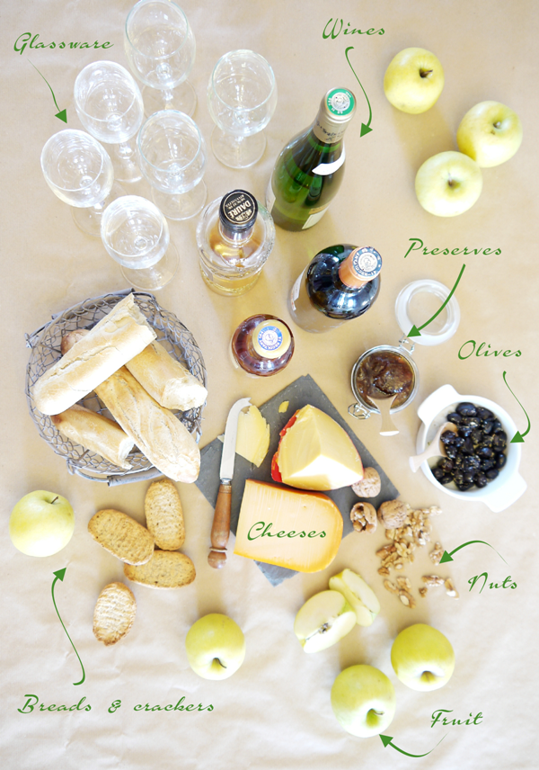 Cheese and Wine Party Ideas with FREE Printables - BirdsParty.com