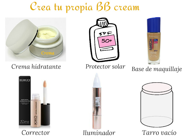 Cómo crear tu propia BB Cream