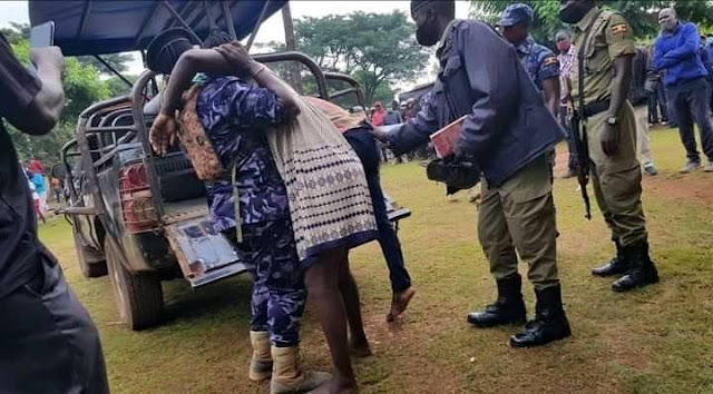 Drama as married woman gets stuck to her lover during Intercourse