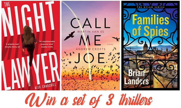 Win a set of 3 thrillers