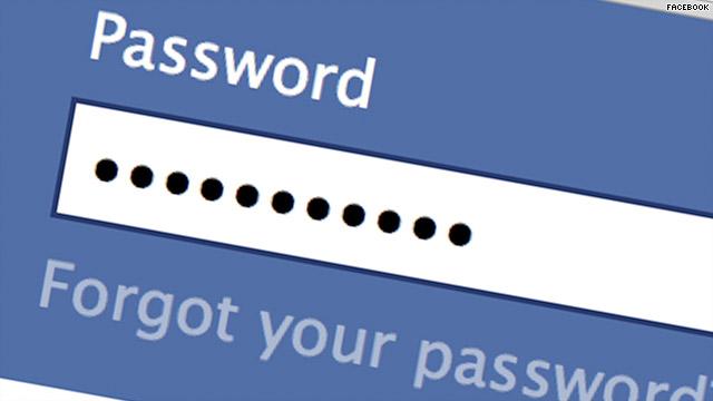 تغيير كلمة سر الفيسبوك