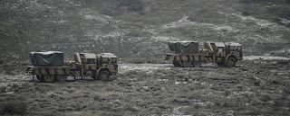 """تركيا تواصل تعزيز نقاط المراقبة في إدلب بقوات """"كوماندوز"""" (فيديو)"""
