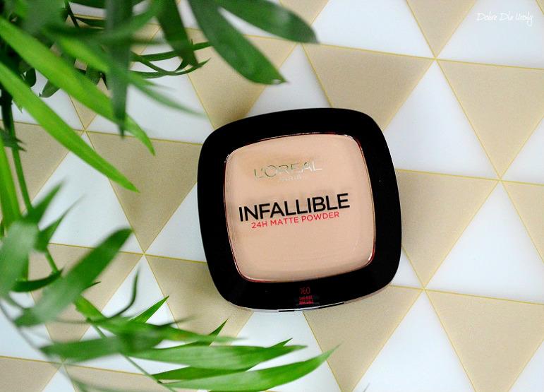 L'Oreal Paris Infallible 24H - Matte matujący puder 160 Sand Beige recenzja