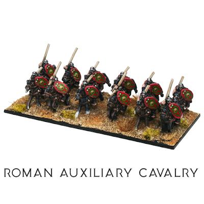 Roman Auxiliary Cavalry