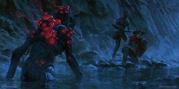 Viko Menezes artstation deviantart arte ilustrações fantasia ficção científica games