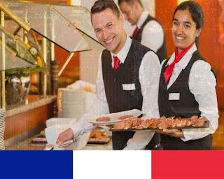20  منصب عمل فندقة و مطاعم 'نادل' وظائف بفرنسا