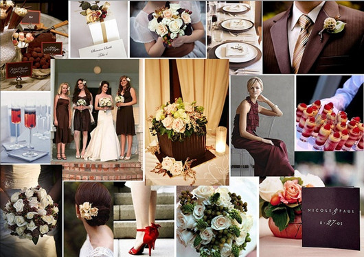 Chocolate Wedding Theme