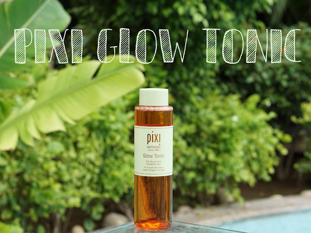 Pixi Skin Treats GLOW TONIC Exfoliating Toner (5% Glycolic Acid, No Alcohol)