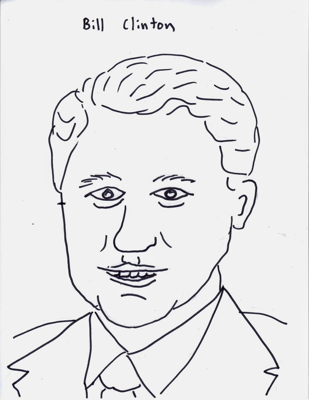 Jesse's Blog: The American Presidents: a Coloring Book