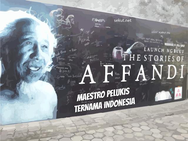 Objek Wisata Museum Affandi di Depok Sleman Yogyakarta