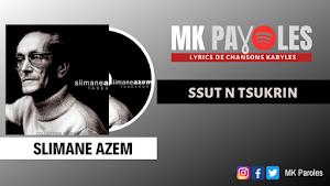 Ssut n Tsukkrin - Slimane Azem 1981