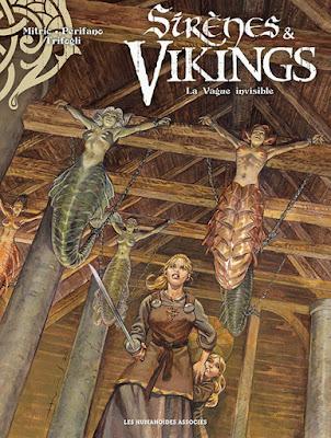 couverture de la BD Sirènes & Vikings tome 4 - La vague invisible