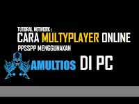 Cara Multyplayer Online PPSSPP Menggunakan Server Amultios Di PC