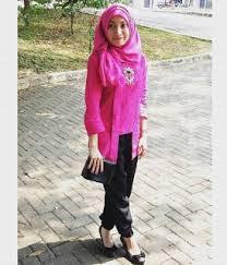 Model Baju Kebaya Batik Kartini Modern Terbaru
