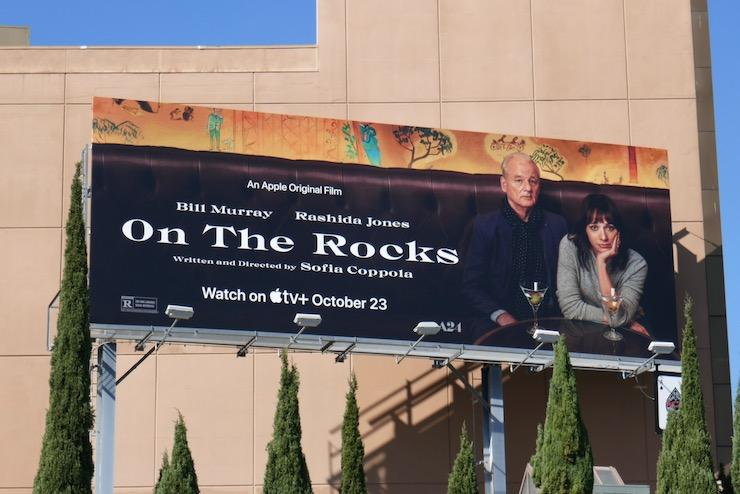 On the Rocks movie billboard