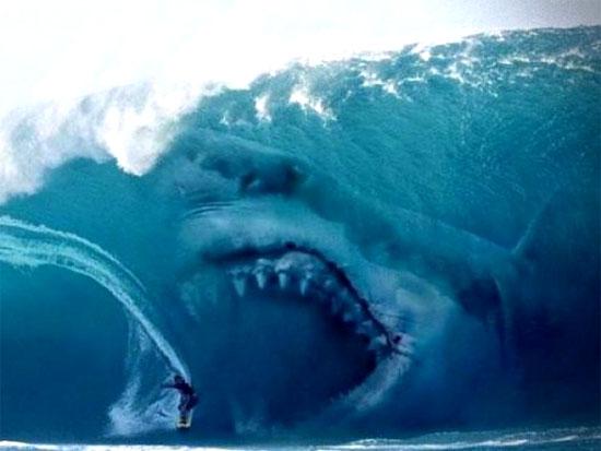 Tubarão maior que um Tiranossauro - Megalodon Img 1