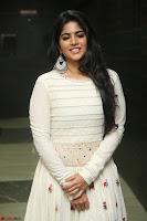 Megha Akash in beautiful White Anarkali Dress at Pre release function of Movie LIE ~ Celebrities Galleries 031.JPG