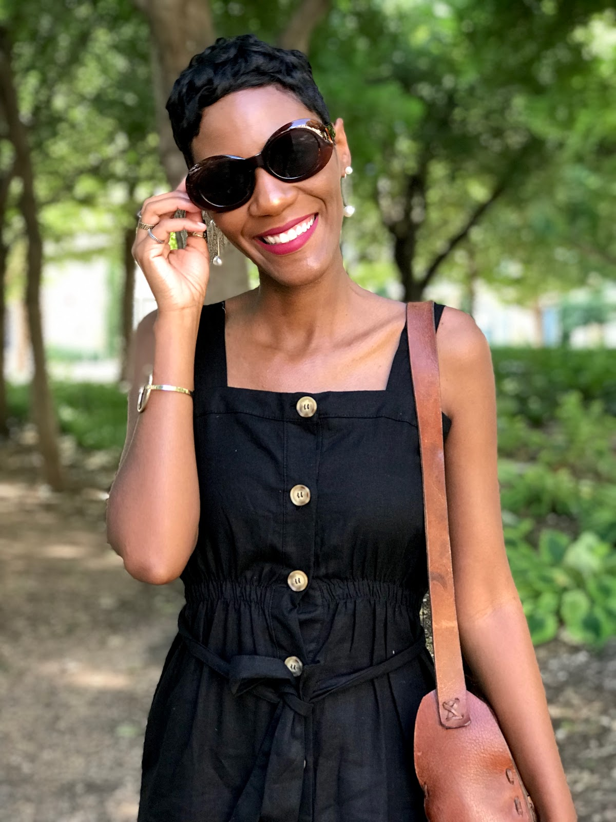Quick OOTD: I Am SOOOOO Obsessed With This Little Black Dress + Other New Accessories!