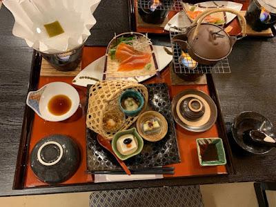 八丁の湯 夕食
