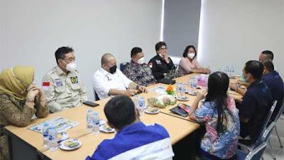 Foto Ketua DPD RI Media Visit ke Redaksi Tribun Pontianak