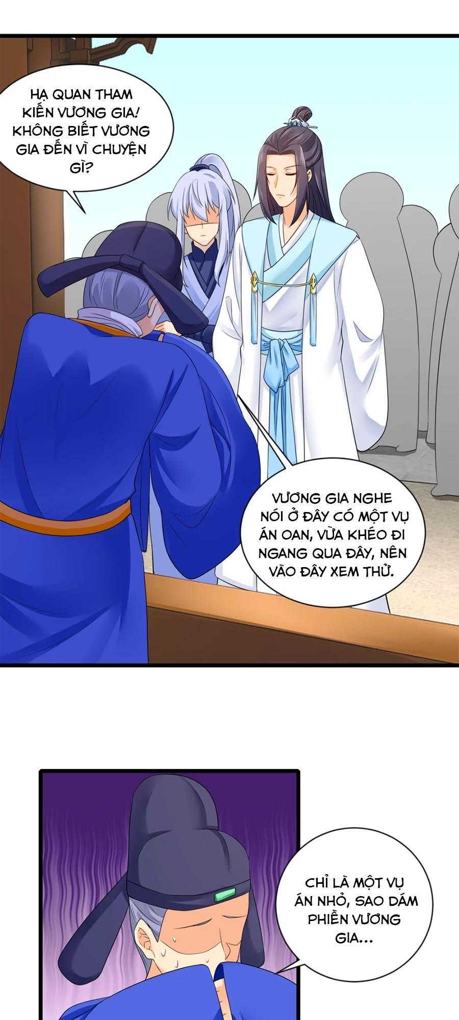Hãn Phi Đương Gia: Lãnh Vương Xin Tự Trọng chap 20 - Trang 10