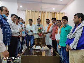 सेवा दिवस के रुप में मनाया विधायक डॉ पंडाग्रे का जन्मदिन