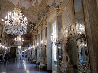ジェノヴァのMuseo di Palazzo Realeの鏡の間