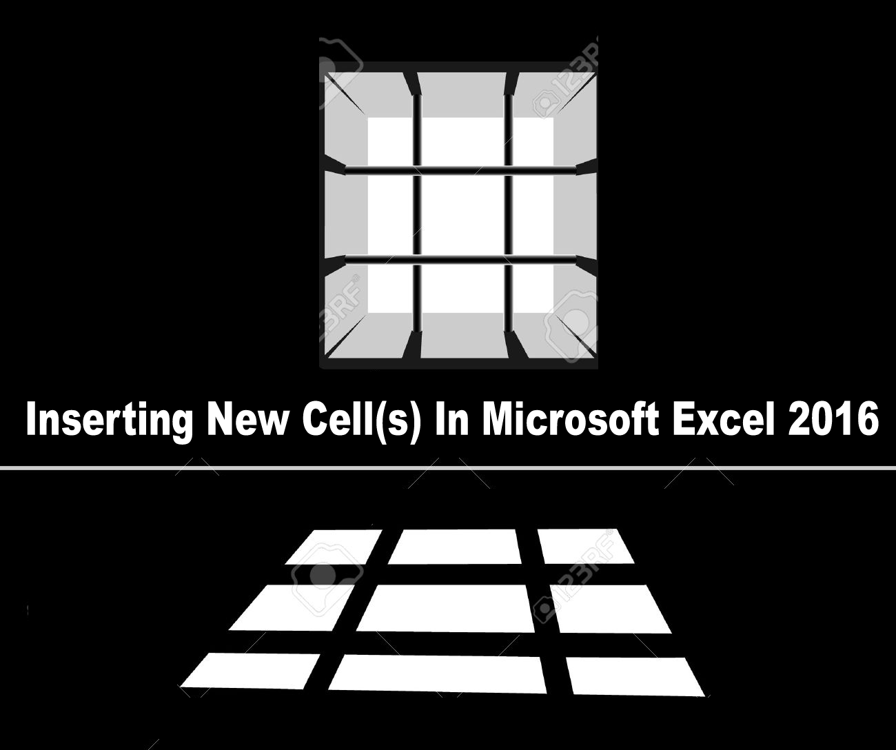 Inserting New Cell S In Microsoft Excel