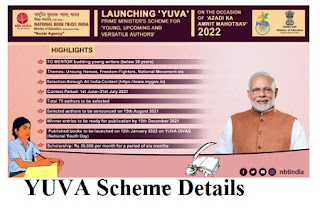 YUVA (Young, Upcoming and Versatile Authors) Scheme.