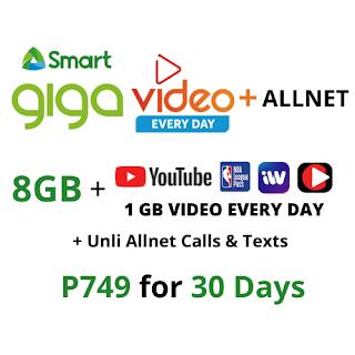 Smart GIGA VIDEO+ ALLNET 749