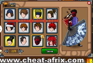 Cheat Hair Style Ninja Saga Update 100% Work