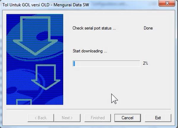 Cara Flash Ulang Gol Garmedia Old Dengan USB to TTL