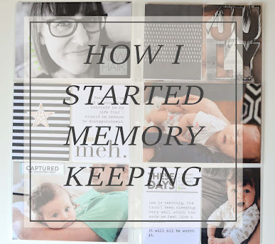 How I Started Memory Keeping // Papered Pine