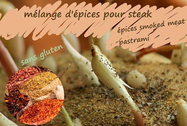 épices pour smoked meat, pastrami, Québec, Canada, sans gluten
