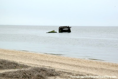 S. S. Atlantus Sunken Concrete Ship in Cape May