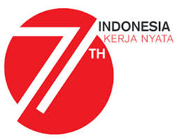 Dengan Logo dan Semangat HUT RI Ke-71 Tahun Mari Kita Isi Dengan Karya dan Kerja Nyata Untuk Bangsa - Negara dan Rakyat Indonesia