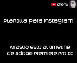 plantilla, instagram,