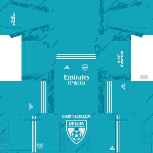Arsenal F.C. Kits 2020-2021 Nike For Dream League Soccer 2019 (Home Goalkeeper)