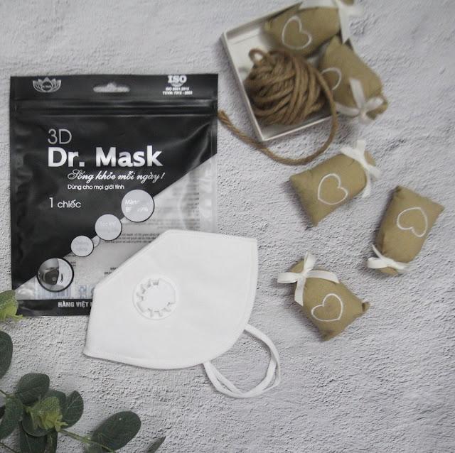 KHẨU TRANG 3DS4 (GÓI 1 CHIẾC) - DR.MASK - 50 GÓI/THÙNG